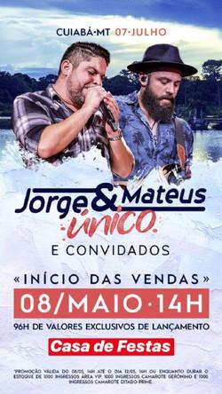 Jorge & Matheus Único e Convidados @