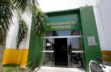 Restaurante Popular de Cuiabá serve almoço com suco e sobremesa por R$ 3
