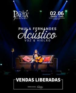 Paula Fernandes Acústico