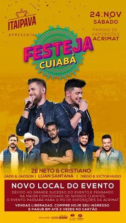 Festeja Cuiabá @musiva