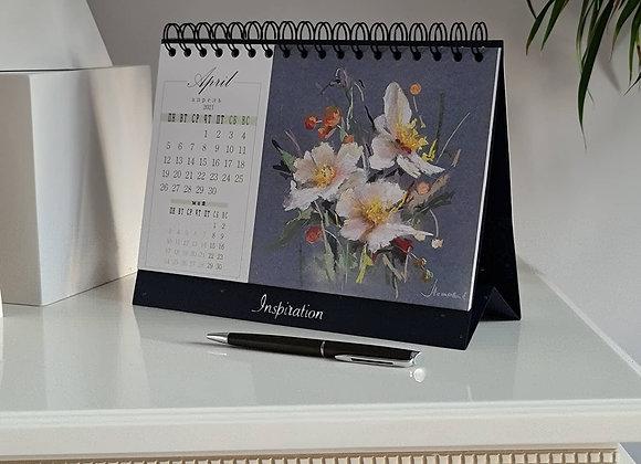 Календарик-домик настольный до марта 2022г. включительно
