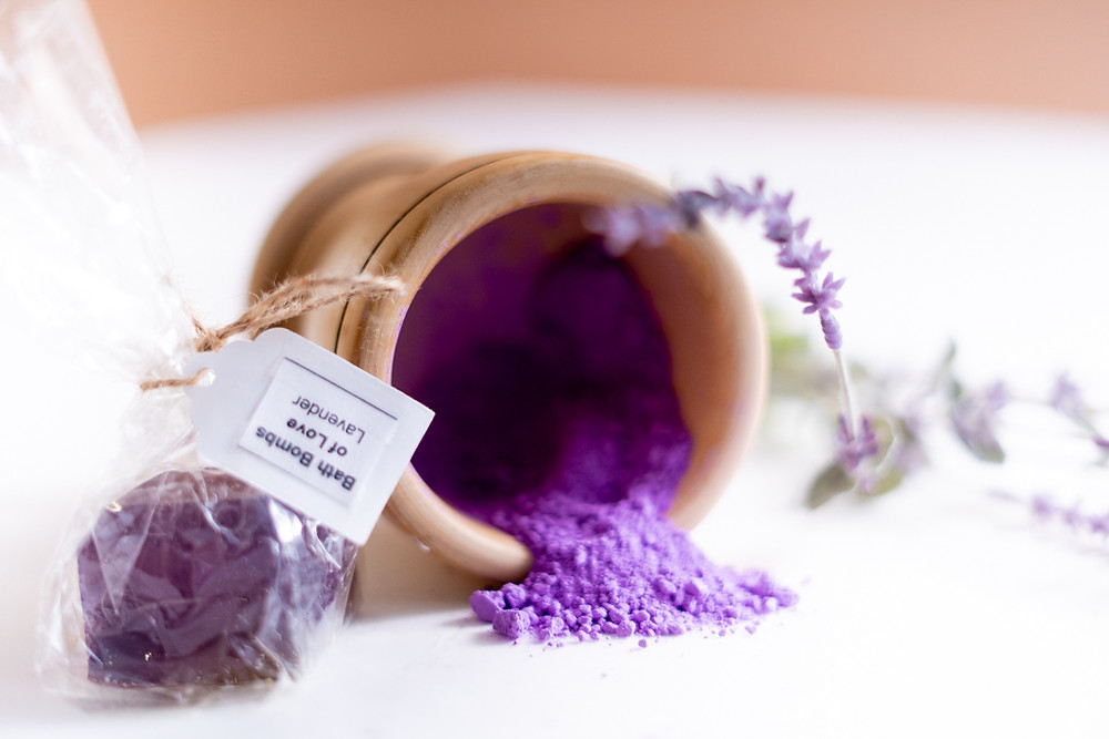 Bath Bomb Of Love Lavender