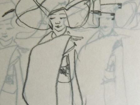 Sketches, travel companions.