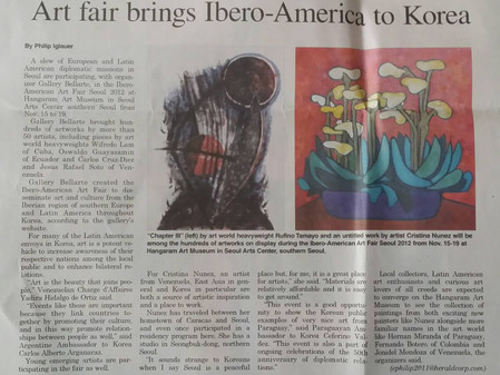 Art Fair brings Ibero-American Art to Korea