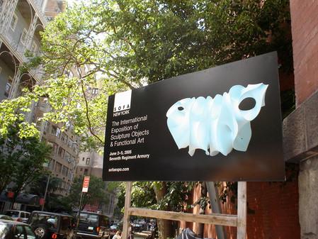 SOFA Sculpture Objects and Funcional Art, NY 2005.