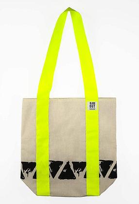 Fluro Spike Tote Bag