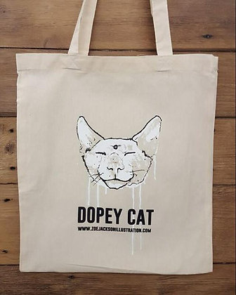Dopey Cat Tote