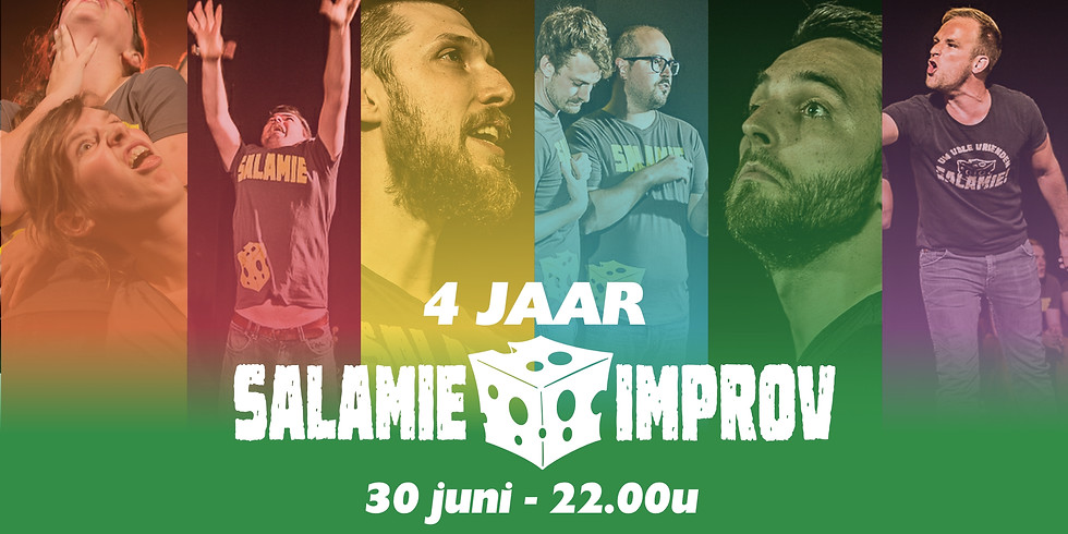4 JAAR SALAMIE IMPROV - LATE NIGHT