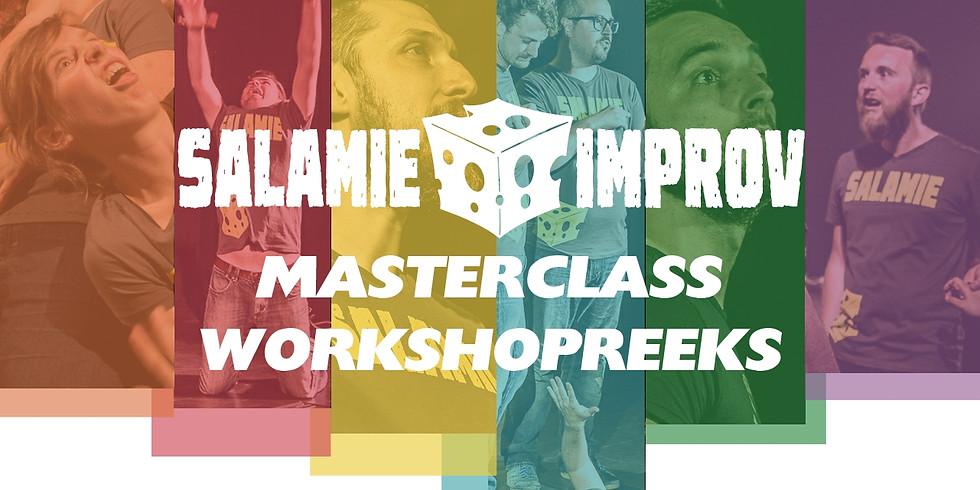 Impro Masterclass reeks