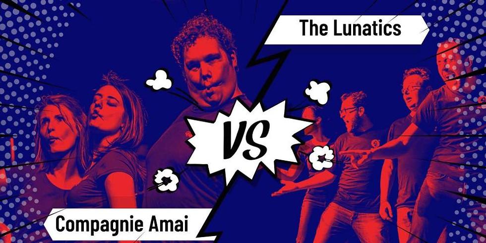Gent - Theatersportwedstrijd: Compagnie Amai vs The Lunatics