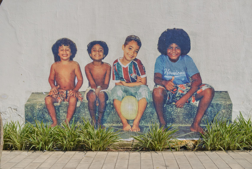 Série Metanoia, Centro, Niterói, Rio de Janeiro (2021) - lambe-lambe (créditos foto: Douglas Dobby Oliveira)