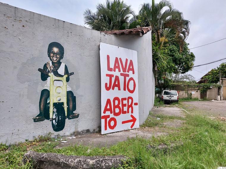 Série Metanóia, Itaipu, Niterói, Rio de Janeiro (2020) - lambe-lambe