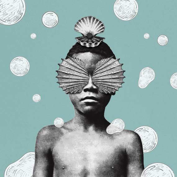 Bolhado, série Bolha (2020) - colagem digital