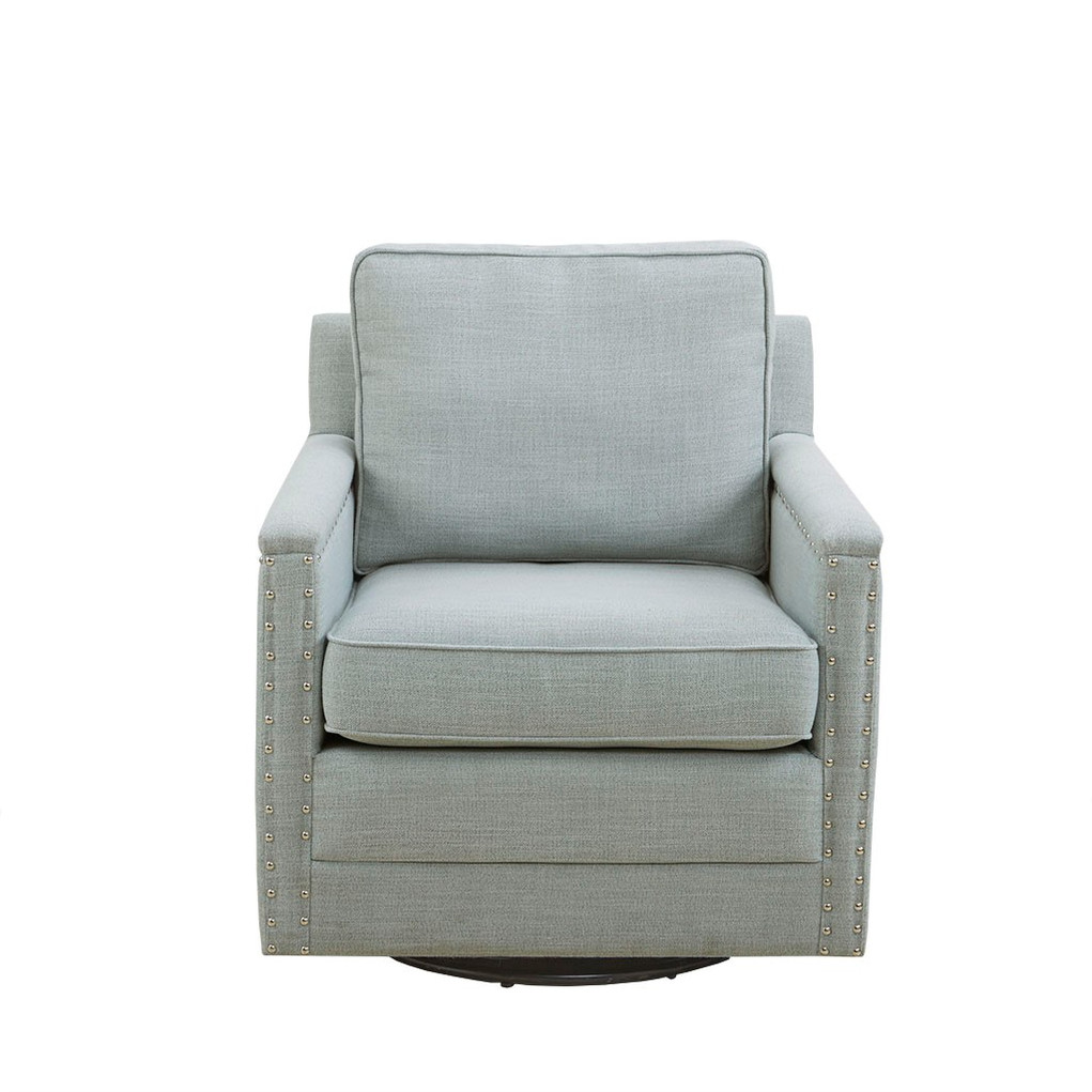 """Madeline Swivel Chair - Dimensions: 29.75""""W x 32""""D x 34.5""""H Price: $475"""