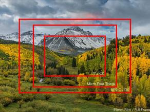 La dimensione del sensore in relazione all'aspetto finale dell'immagine