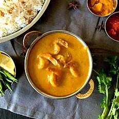 Crevettes/Shrimp Korma