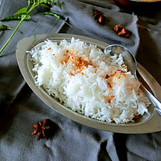 Riz vapeur/Basmati rice (steamed)