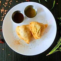 Vegetarian Samosa (2 pieces)