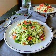 Concombre/Cucumber salad