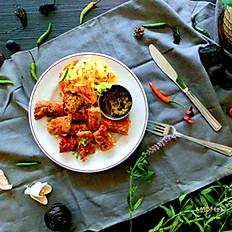 Poulet/Chicken Kebab