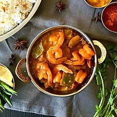 Crevette/Shrimp Bhunna