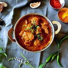 Agneau au cari/Lamb curry