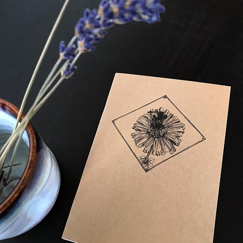 A6 Illustrated Lined Notebook