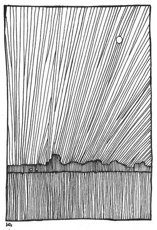 Landscape in lines