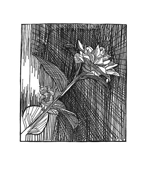 Rose Design Greeting Card