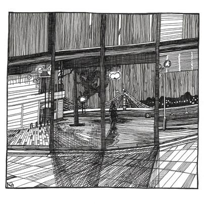 Reflection (Albert Bridge)