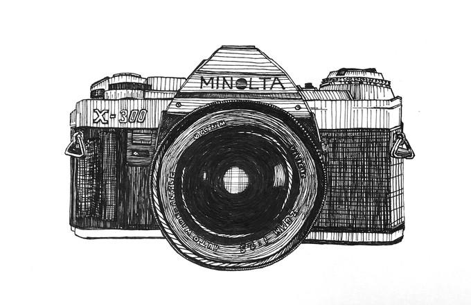 Minolta camera
