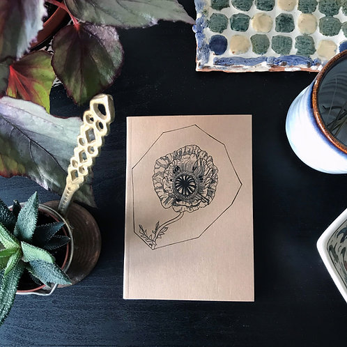 A6 Notebook (Poppy Design)