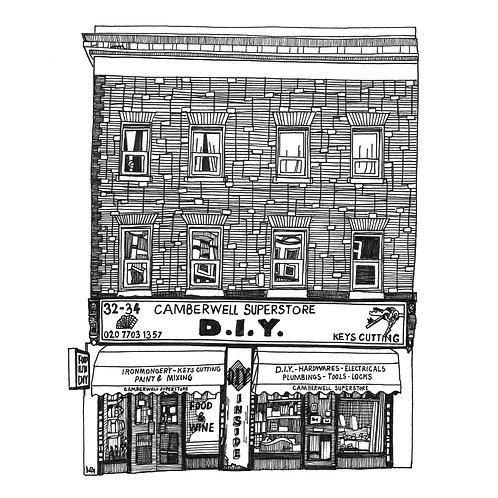 DIY Shop Illustration