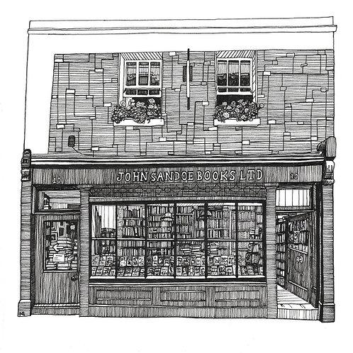 The John Sandoe Books Ltd Bookshop in Chelsea