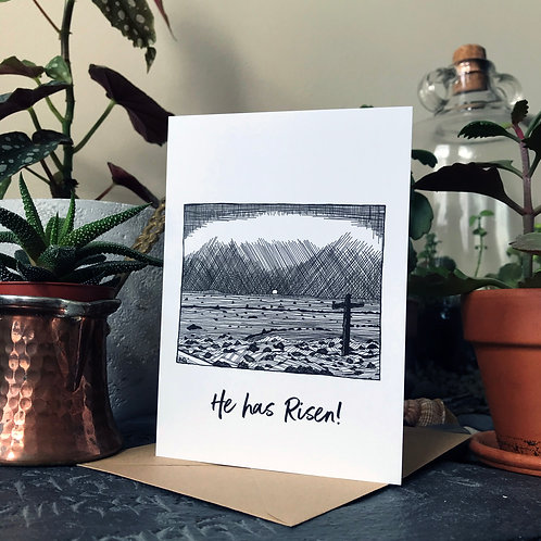 Easter Card (He has Risen!)