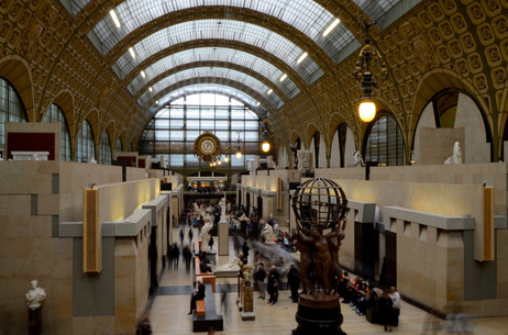 Long exposure at the Musee de Orsay