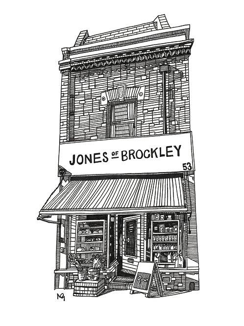 Jones of Brockley Illustration