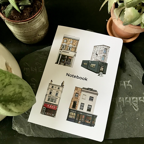 Camberwell Shopfronts Notebook