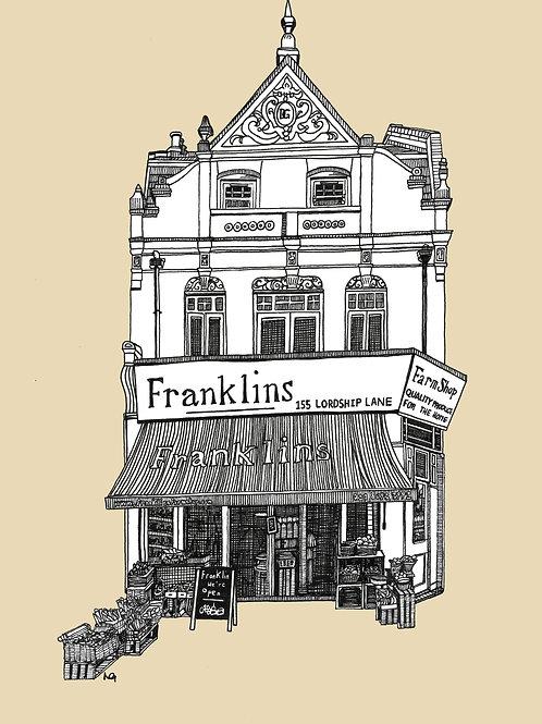 Franklins Shop Illustration