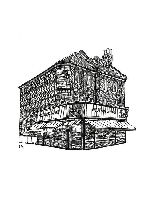 William Rose Butchers Illustration