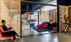 Design INstory - Perkins + Will - Seattle Art Fair VIP Lounge