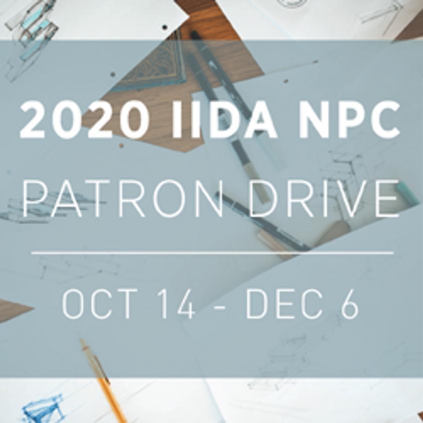 2020 IIDA NPC Patron Drive Begins!