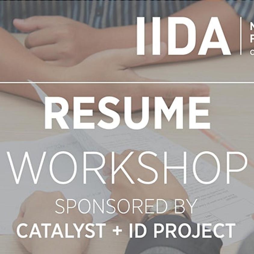 IIDA NPC Virtual Resume Workshop
