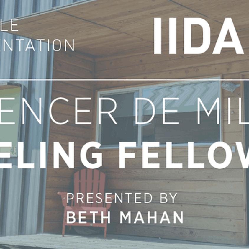 Spencer de Mille Traveling Fellowship Presentation
