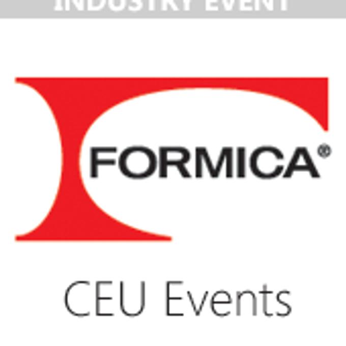 Industry Webinar CEU / Formica / Blurred Spaces