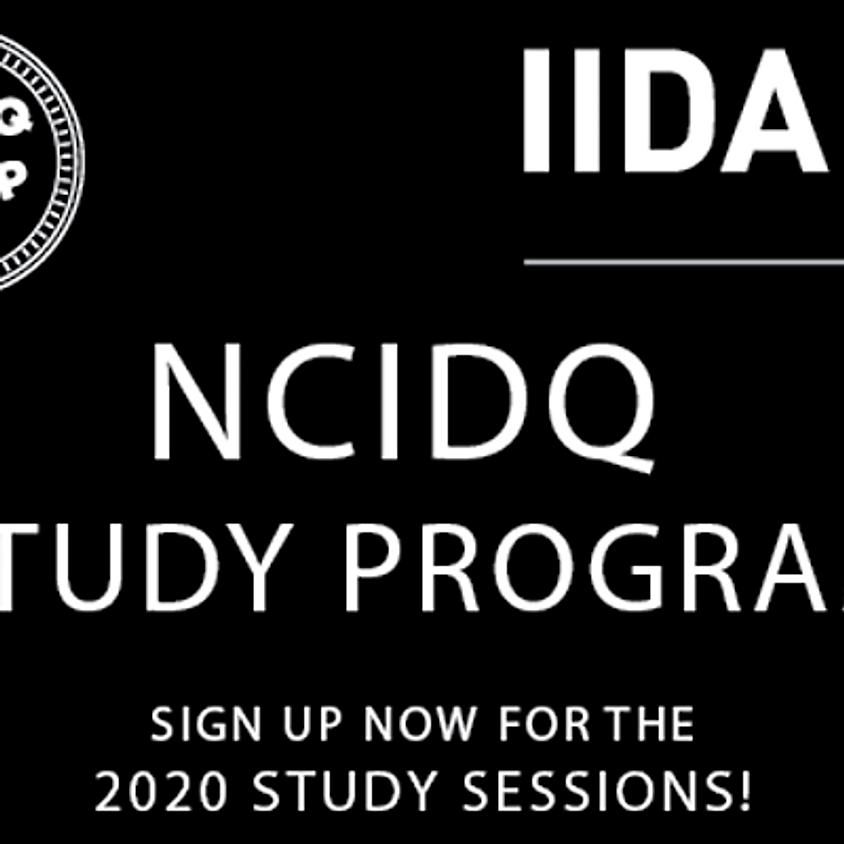 Seattle / NCIDQ Study Program Week 1