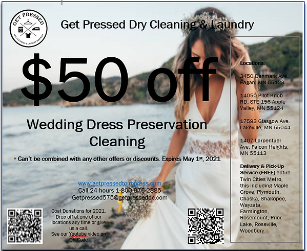Wedding dress $50 off pic for web 05-01-