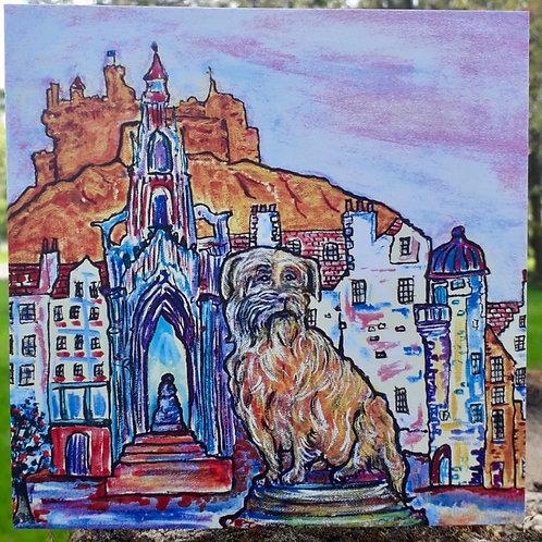 Bobbie's Edinburgh Greeting Card