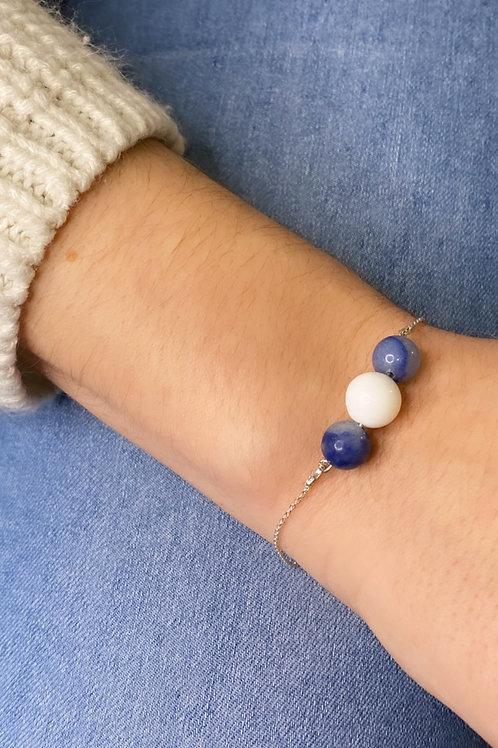 Bracelet Clémentine - Bijou au lait maternel