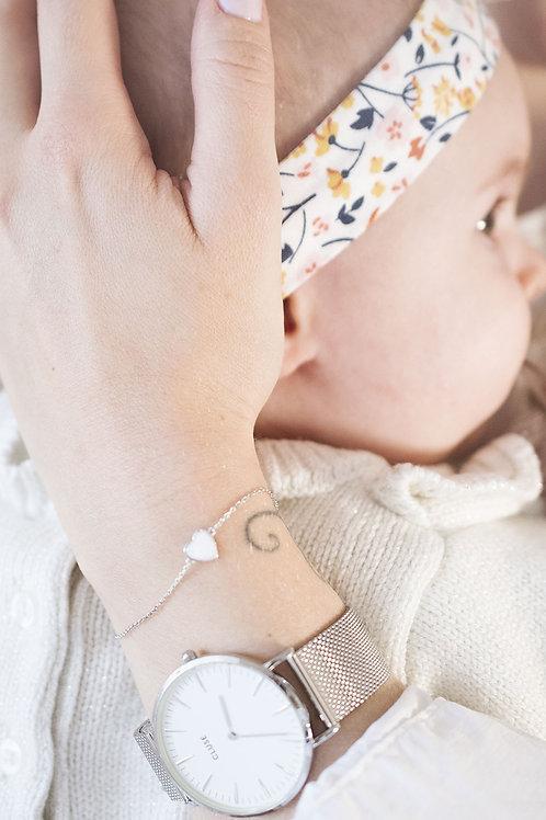 Bracelet Lova - Bijou au lait maternel